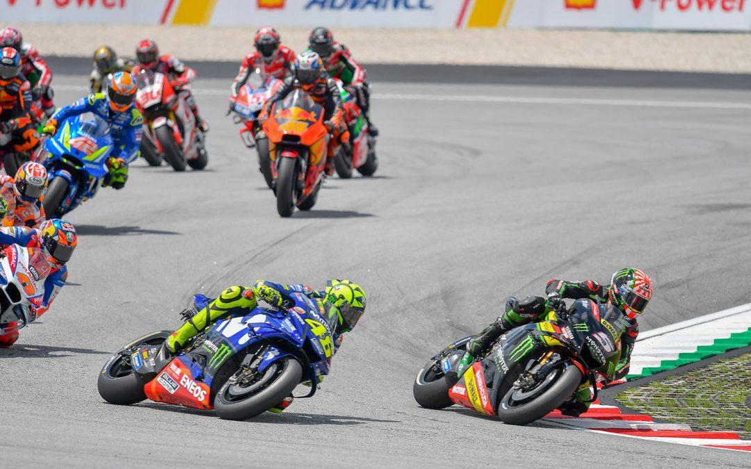 Movistar Yamaha Put Up Fierce Fight in the Malaysian GP